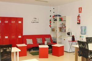 sala descanso Coworking Nomad