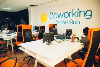 Coworking in the sun