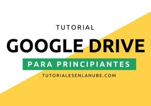 Tutorial Google Drive banner