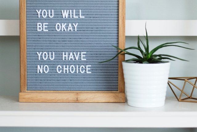 you will be ok
