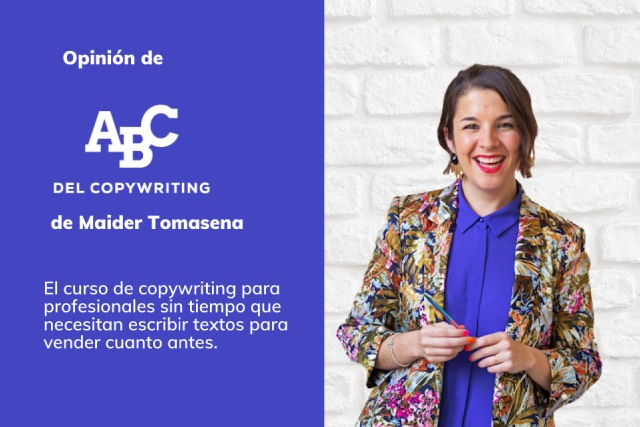 opinion abc copywriting Maider tomasena